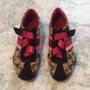 Authentic Women's Coach Sneakers/Shoes- 7 medium